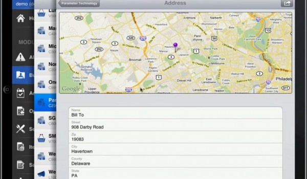 coresuite mobile sales for iPad